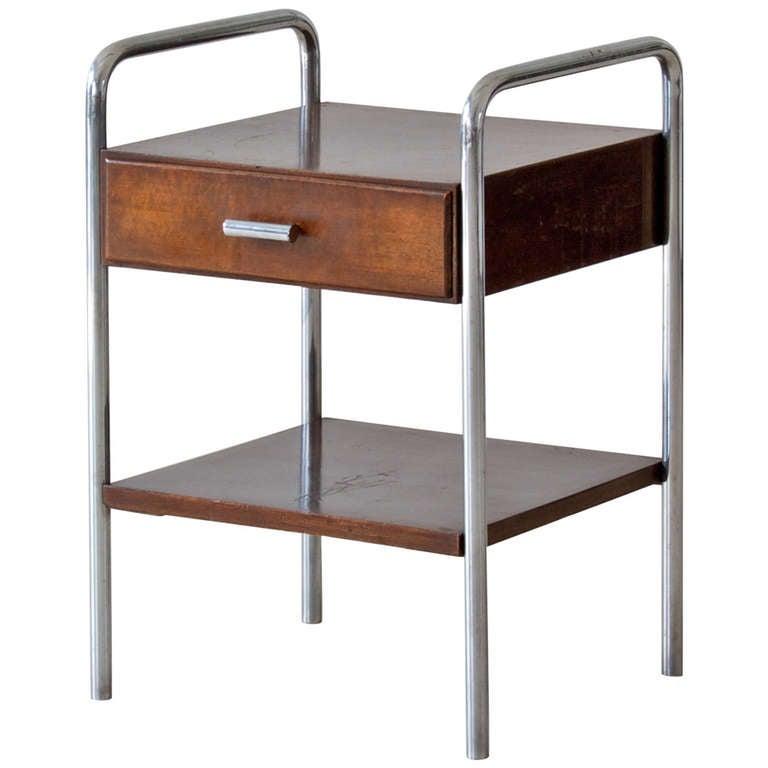 Bauhaus Side Table At 1stdibs