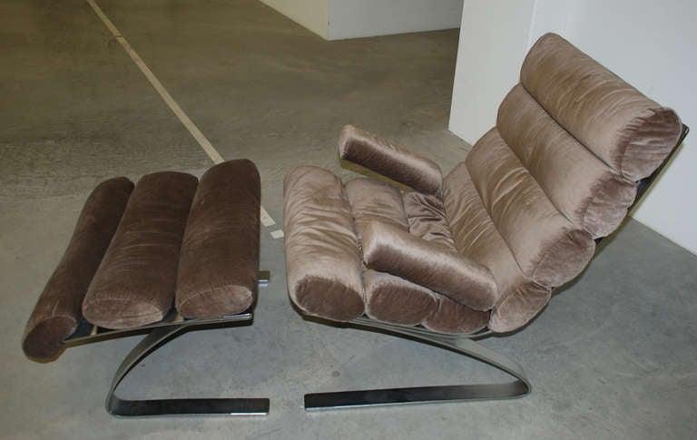 cor 39 sinus 39 lounge chair reinhold adolf and hans j rgen schr pfer at 1stdibs. Black Bedroom Furniture Sets. Home Design Ideas