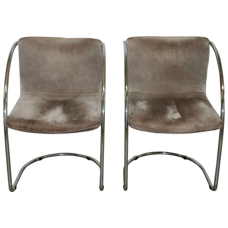 Onda Chair And Ottoman In Missoni Fabric By Giovanni: 2 Giovanni Offredi 'Lens' Chairs, Saporiti At 1stdibs