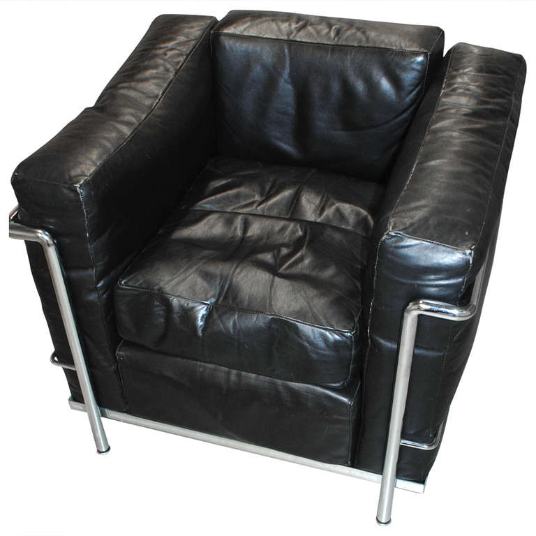 Le Corbusier Quot Lc 2 Quot Armchair At 1stdibs