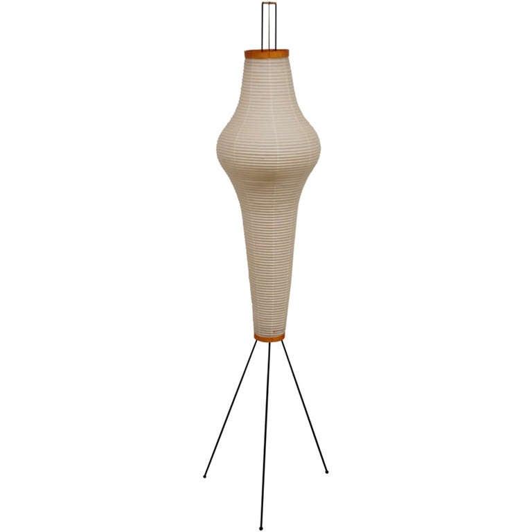 isamu noguchi 39 14a 39 akari floor lamp at 1stdibs