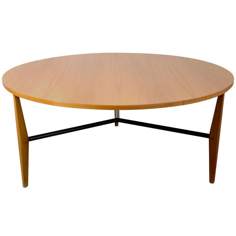 Rare knoll coffee table 401 harry bertoia 1954 55 at 1stdibs - Bertoia coffee table ...