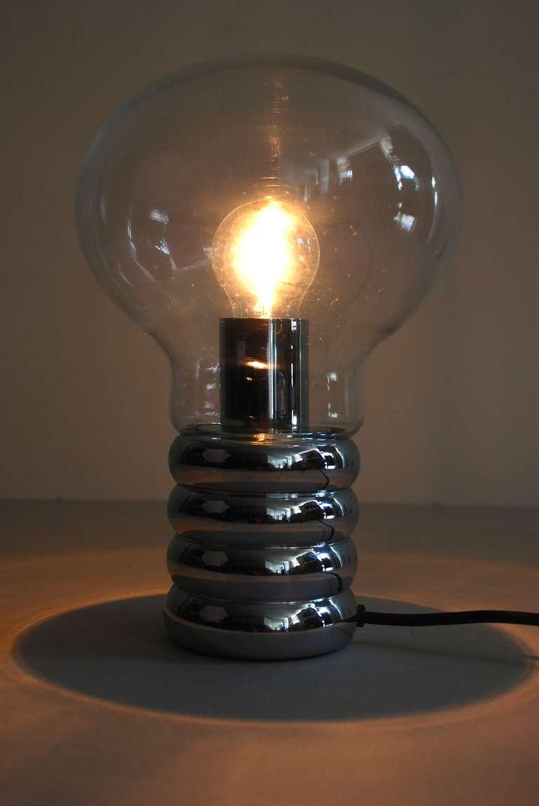 ingo maurer 39 bulb 39 table lamp 1966 for sale at 1stdibs. Black Bedroom Furniture Sets. Home Design Ideas