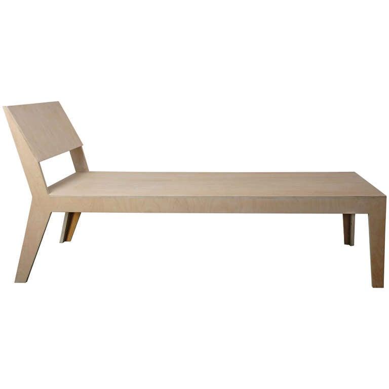 chaise longue 39 nf 12 39 by katsuhito nishikawa 1988 at 1stdibs. Black Bedroom Furniture Sets. Home Design Ideas