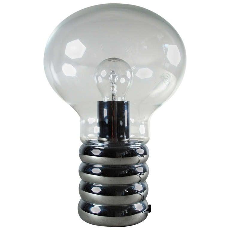 ingo maurer 39 bulb 39 table lamp 1966 at 1stdibs. Black Bedroom Furniture Sets. Home Design Ideas