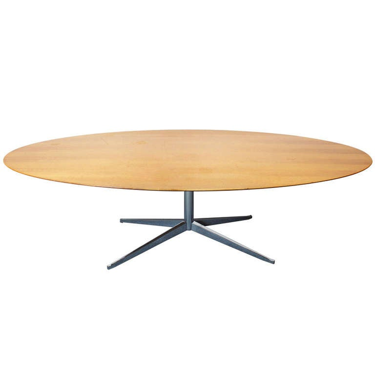 florence knoll dining table model no 2481 at 1stdibs
