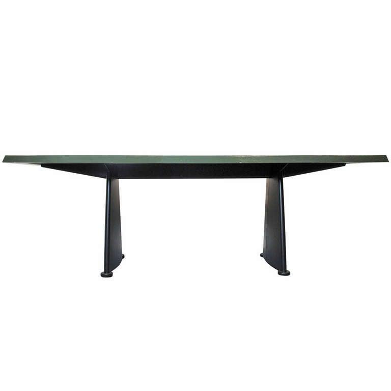 jean prouve trap ze dining table at 1stdibs. Black Bedroom Furniture Sets. Home Design Ideas