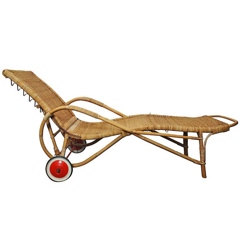 Josef frank chaise longue at 1stdibs - Chaise longue cuir fly ...