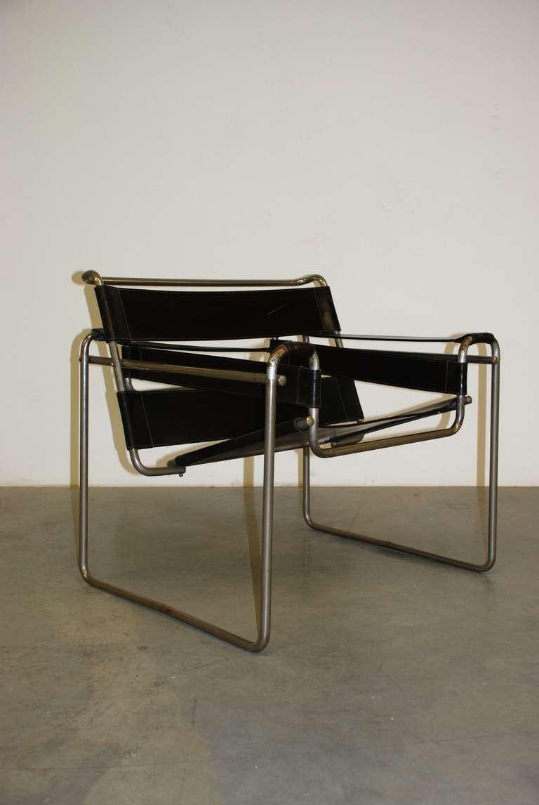 marcel breuer b3 wassily standard m bel berlin 1925. Black Bedroom Furniture Sets. Home Design Ideas