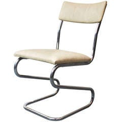 Jindrich Halabala, Tubular Steel Chair, 1930-1931