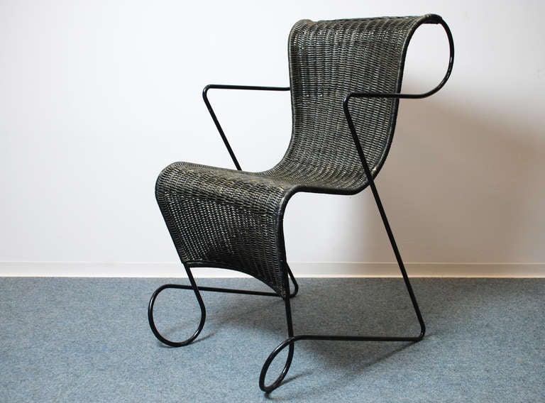ron arad zago chair 1990 driade italien at 1stdibs. Black Bedroom Furniture Sets. Home Design Ideas