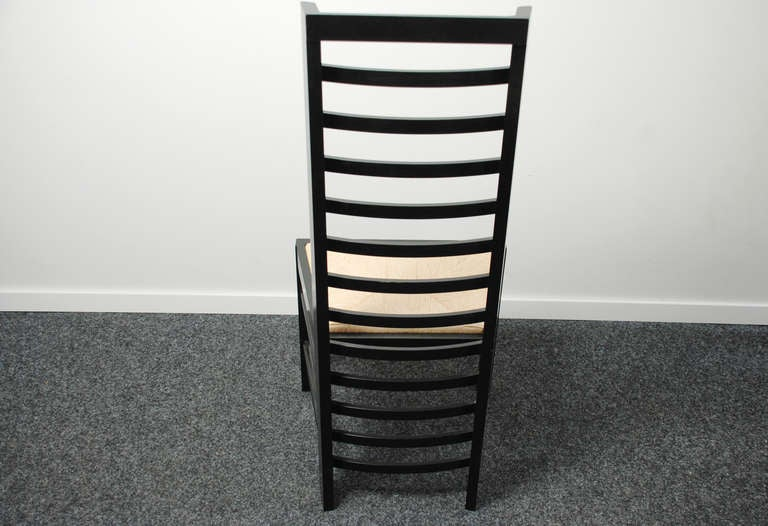 Charles Rennie Mackintosh A Set Of Four Chairs Willow 2 At 1stdibs