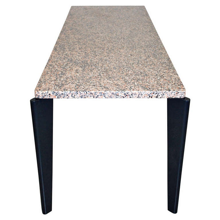 Jean prouve granito table at 1stdibs for Table quiz hannover