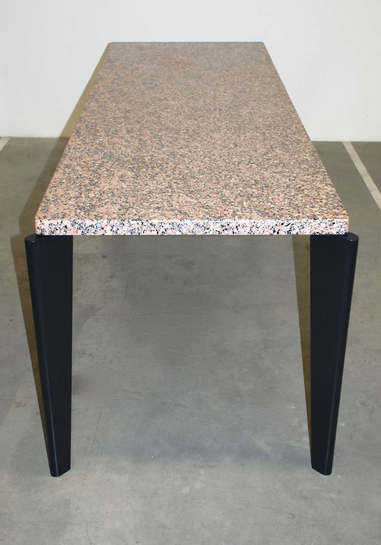 Jean prouve granito table for sale at 1stdibs - Jean prouve reedition ...