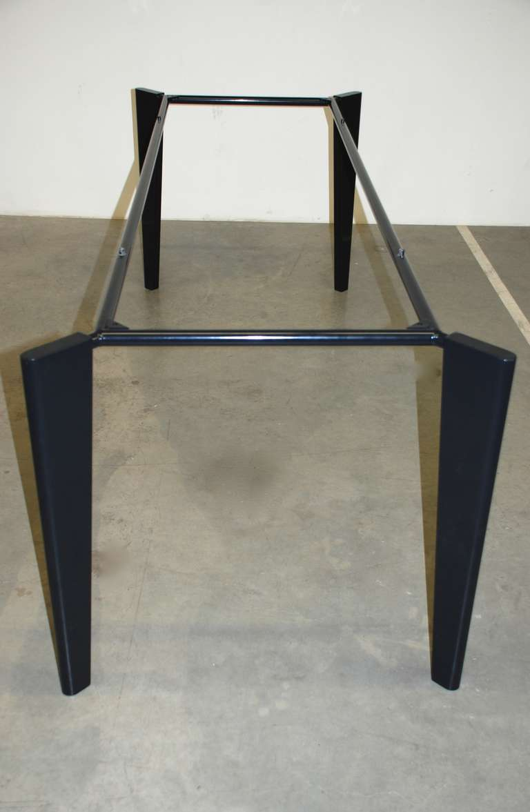 jean prouve granito table for sale at 1stdibs. Black Bedroom Furniture Sets. Home Design Ideas