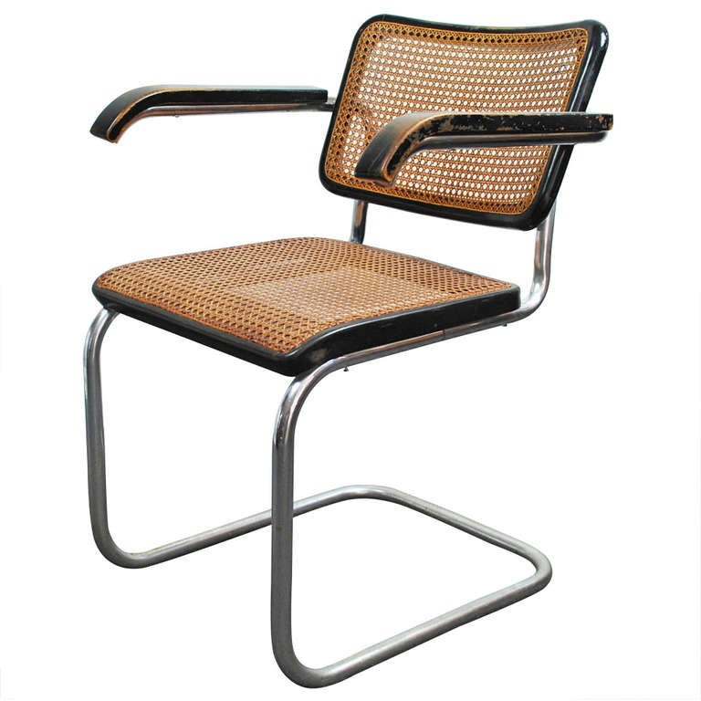 marcel breuer 39 b 64 39 armchair thonet 1933 at 1stdibs. Black Bedroom Furniture Sets. Home Design Ideas