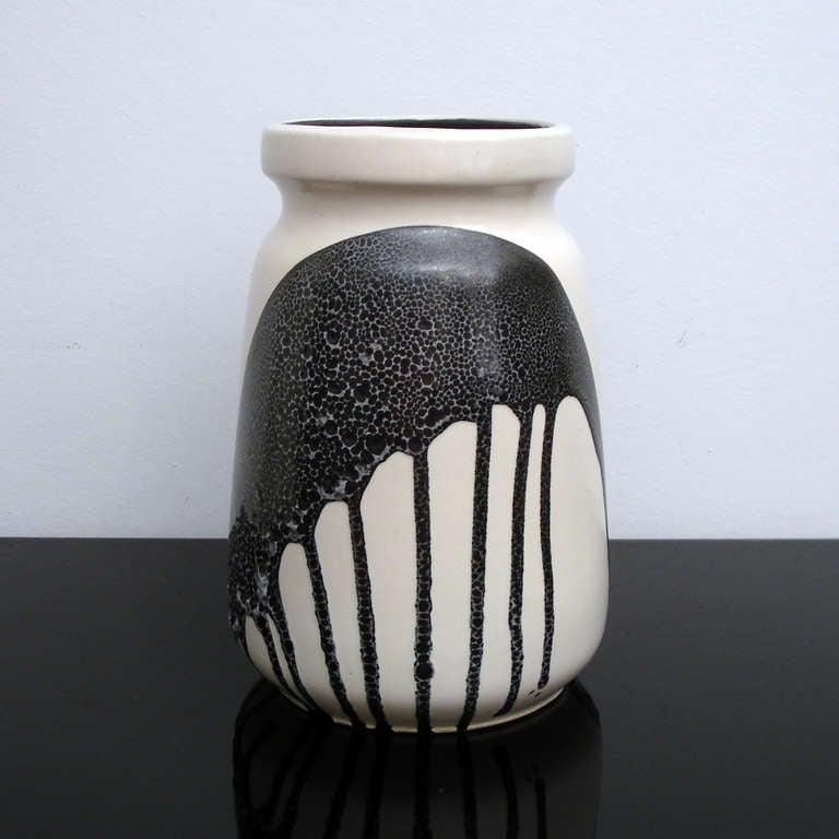 Lapid Israel Zebra Ceramic Vases For Sale At 1stdibs