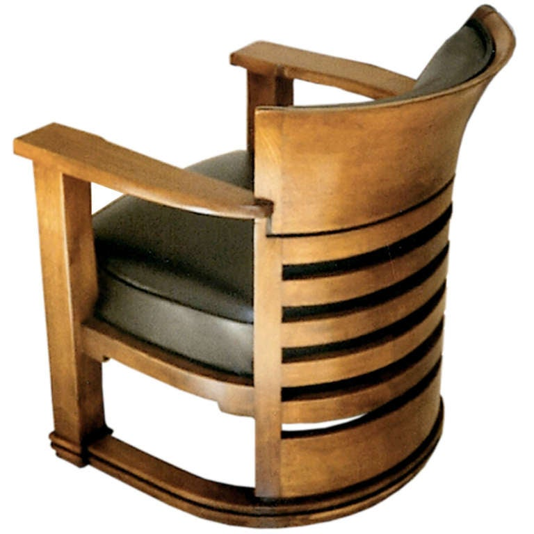 Important Bauhaus Chair By Peter Adolf Rading Germany