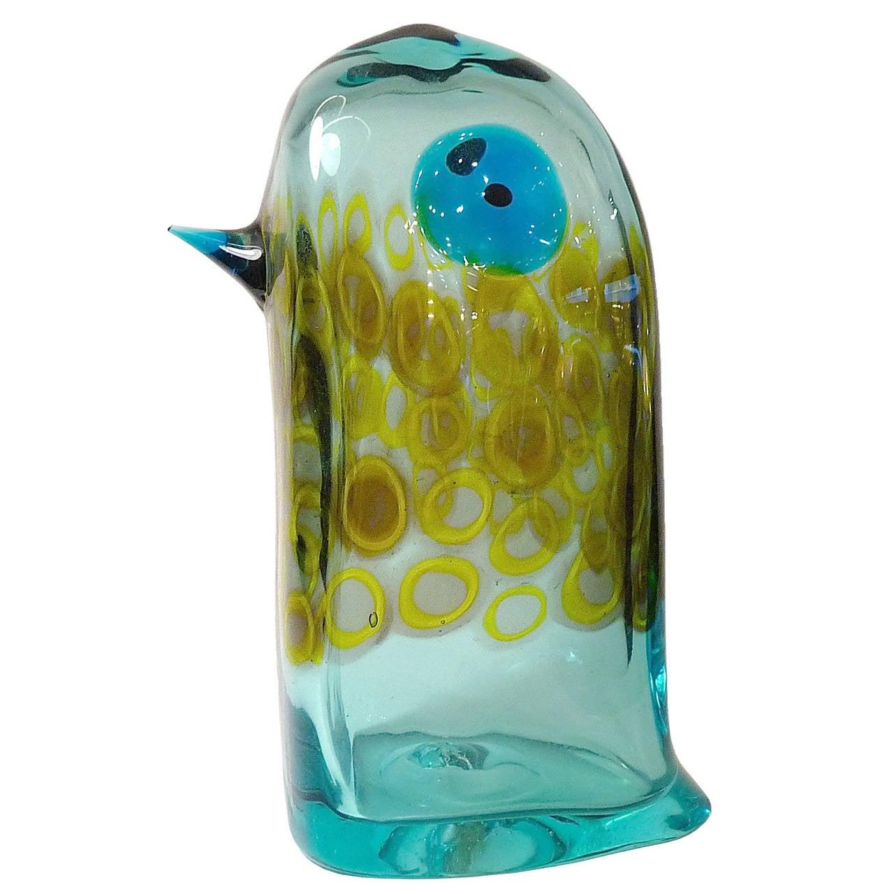 Murano Glass Pulcino by Antonio Da Ros for Cenedese