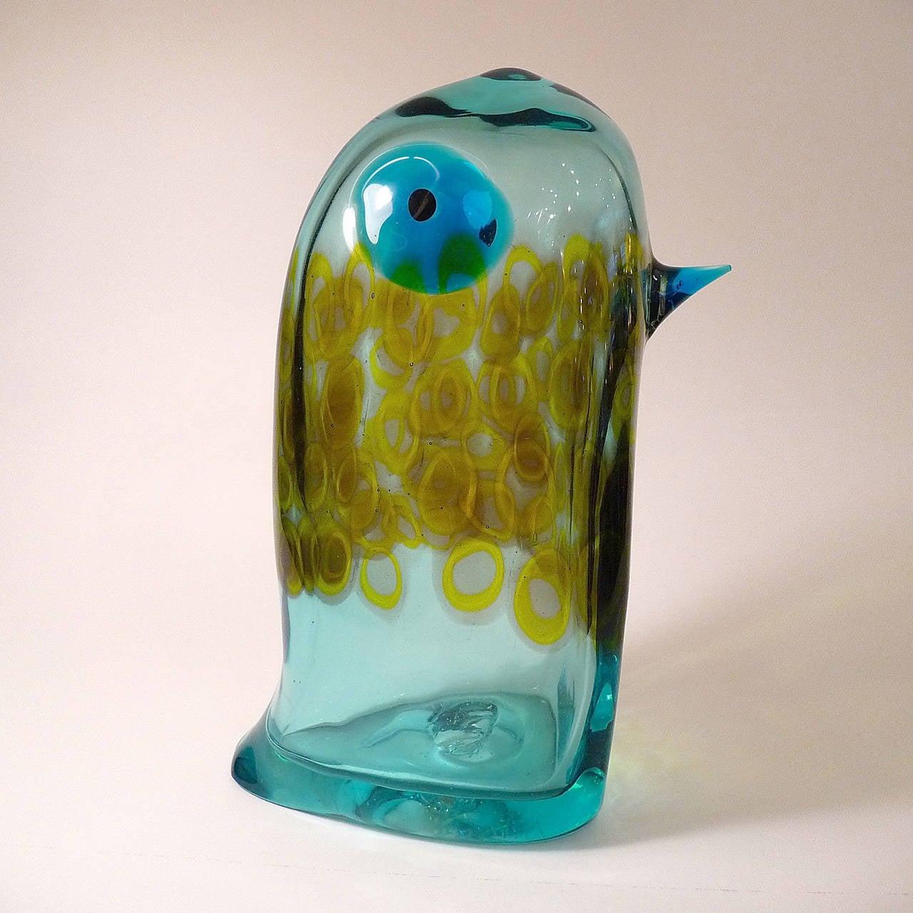 Murano Glass Pulcino by Antonio Da Ros for Cenedese For Sale 1