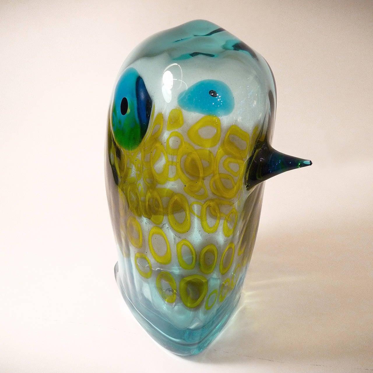 Murano Glass Pulcino by Antonio Da Ros for Cenedese In Excellent Condition For Sale In Bochum, NRW