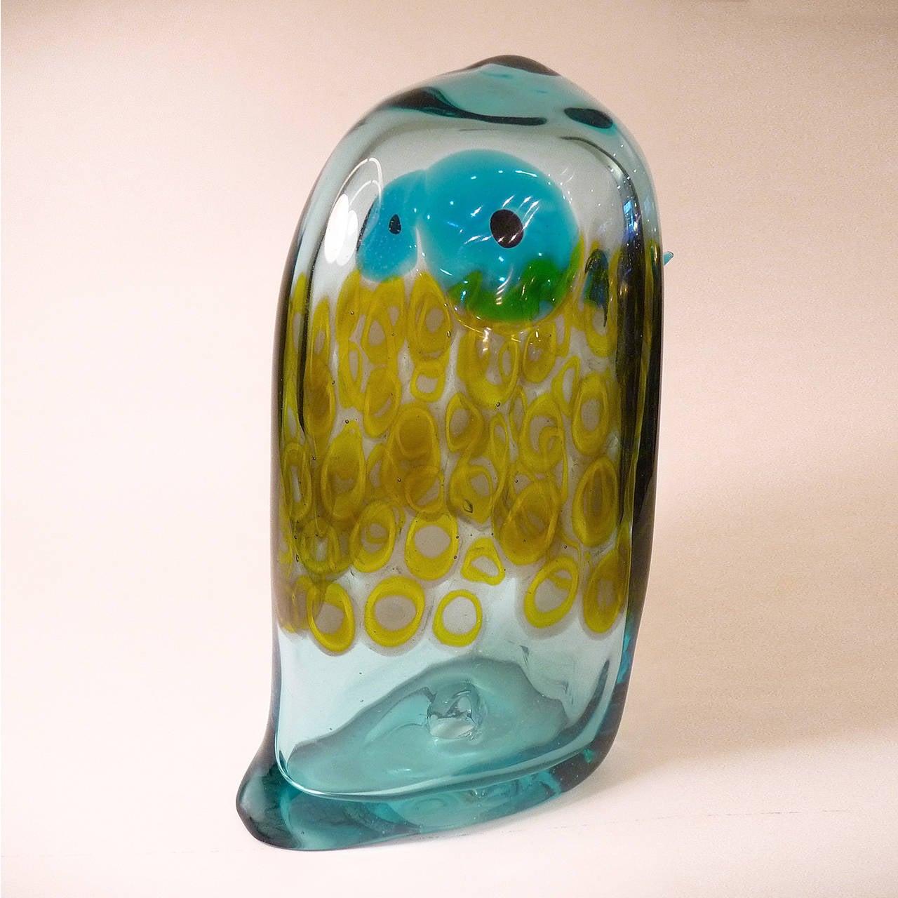 Murano Glass Pulcino by Antonio Da Ros for Cenedese For Sale 2