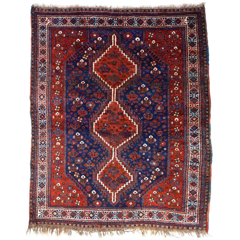 Antique tribal rug