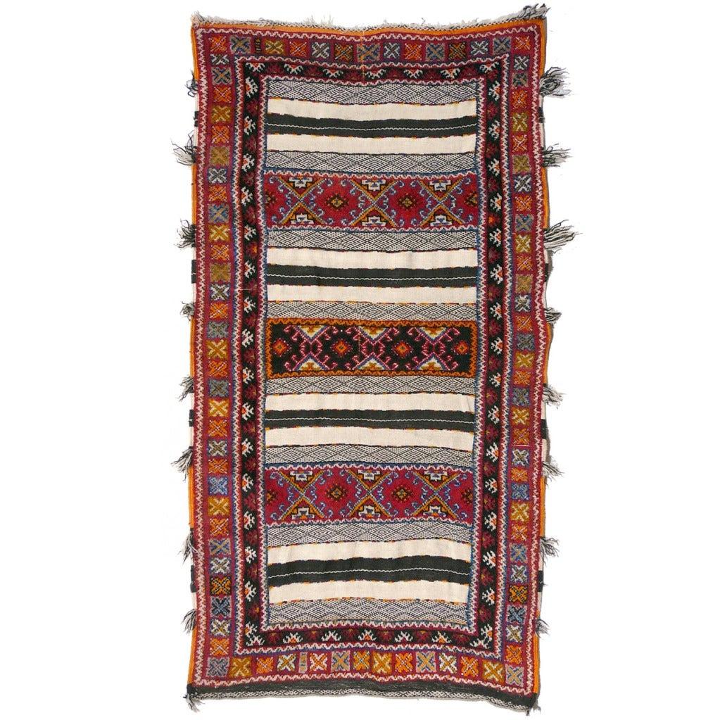 Vintage Moroccan Area Rug For Sale At 1stdibs: Vintage Moroccan Berber Wedding Rug For Sale At 1stdibs