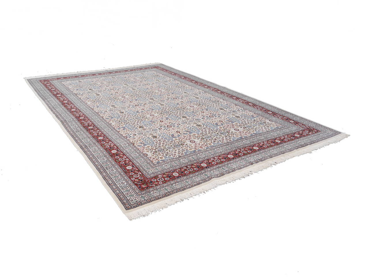 Fine Vintage Turkish Hereke Carpet For Sale 2
