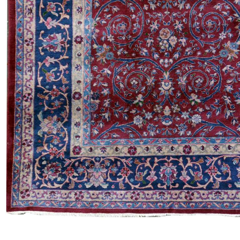 Agra Antique Carpet For Sale At 1stdibs