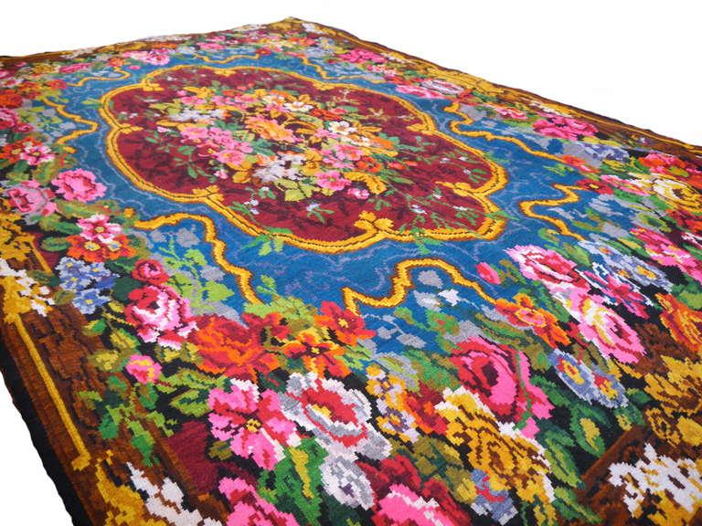 Antique Bessarabian Kilim Carpet For Sale At 1stdibs