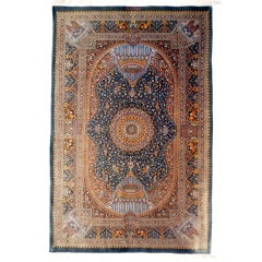 Persian Empire Qum Silk Rug