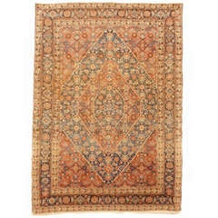 Late 19th c. Tabriz antique rug