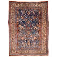 Vintage Nain Tudeshk Persian Rug