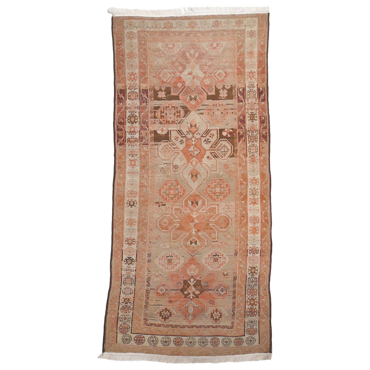 Antique Caucasian Karabagh Rug For Sale