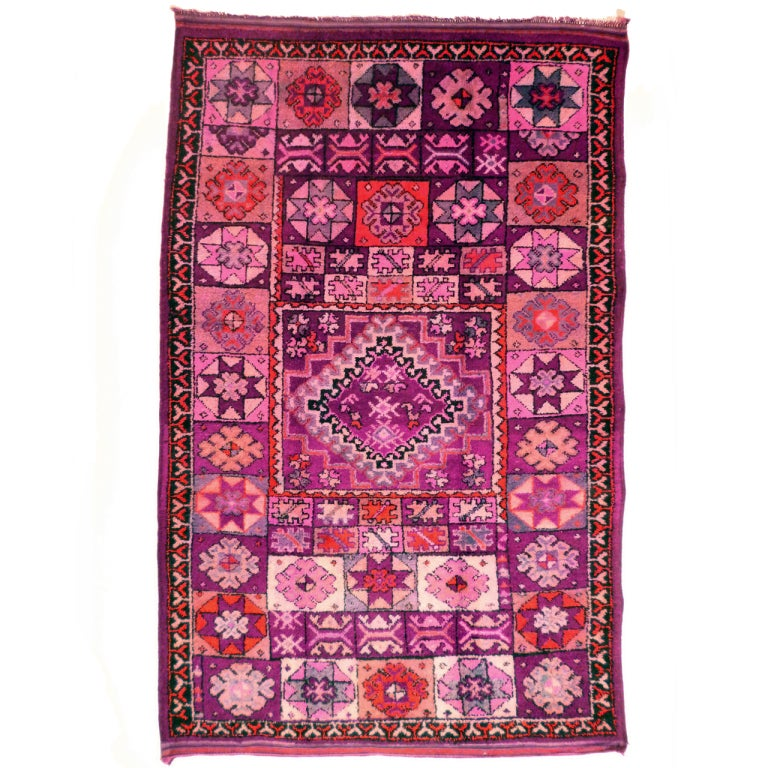 Vintage Moroccan Berber Carpet For Sale At 1stdibs