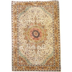 Great and Very Fine Vintage Turkish Hereke Carpet Oversize