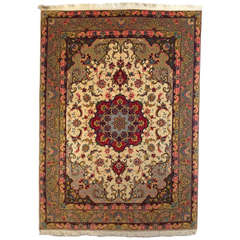 Fine Floral Persian Rug