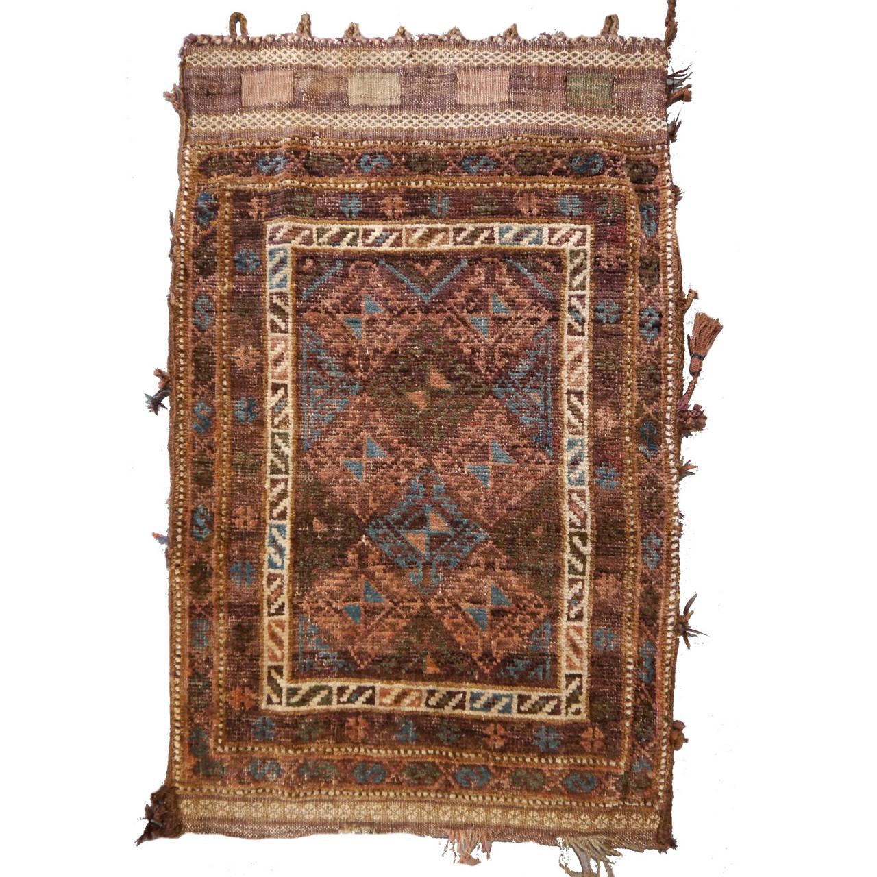 Antique Afghan Rugs: Antique Afghan Cornsack Or Tribal Bag At 1stdibs