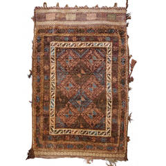 Antique Afghan Cornsack or Tribal Bag