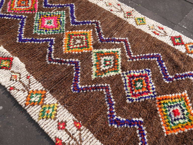 Vintage North African / Moroccan Berber Rug In Excellent Condition For Sale In Lohr, Bavaria, DE