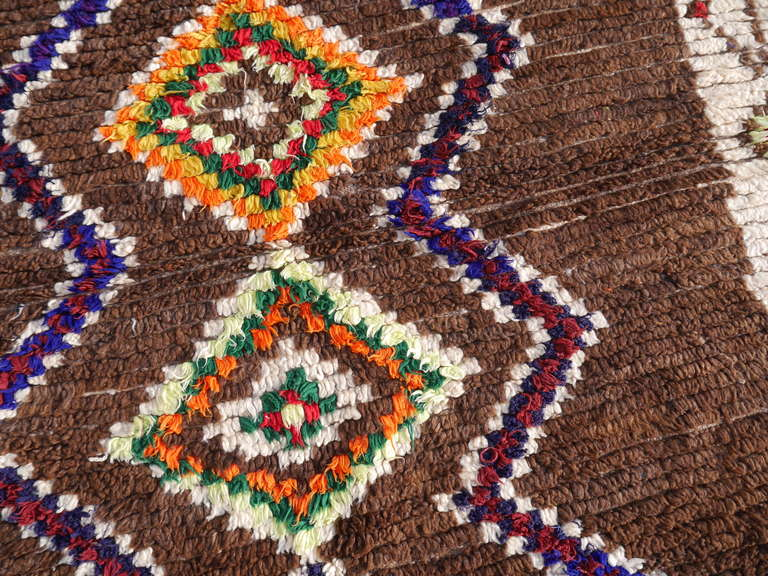 Vintage North African / Moroccan Berber Rug 8