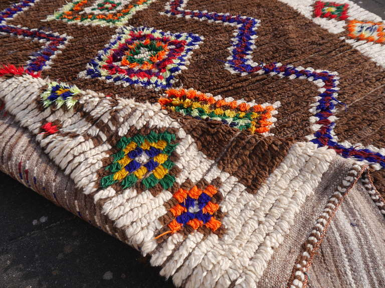 Vintage North African / Moroccan Berber Rug 9