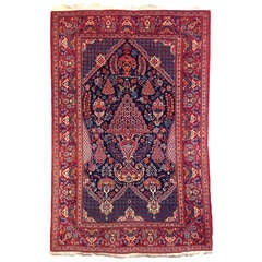 2nd quater 20th century vintage Kashan prayer rug