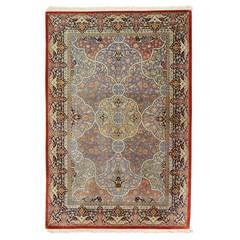 Persian Qum Pure Silk Rug