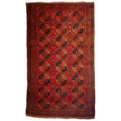 Ersari Antique Turkmen Gentlemens Carpet Large Size