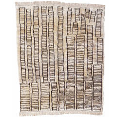 "Beni Ourain Vintage Rug in ""Manhattan Design"""