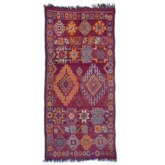 Marokkanischer / nordafrikanischer Vintage Berber Teppich