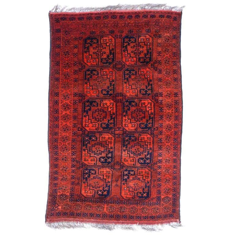 Antique Afghan Rugs: Vintage Afghan Ersari Tribal Rug At 1stdibs