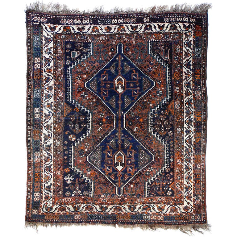 Antique tribal rug 1